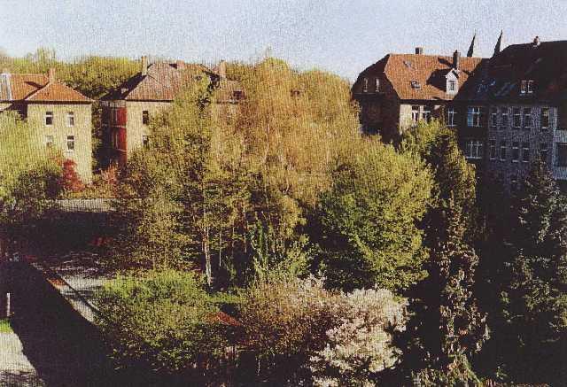 Foto vom Innenhof